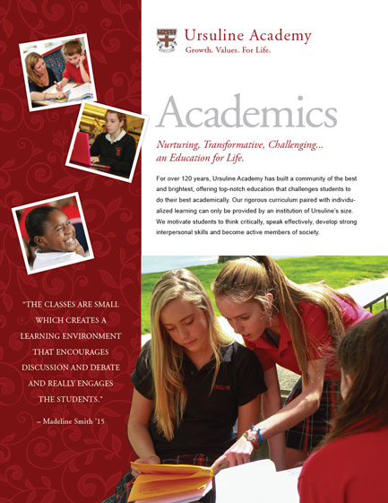 Ursuline Academy - One Page Sheet